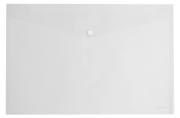 "Папка-конверт с кнопкой ERICH KRAUSE ""Classic"", A4, до 120 л, прозрачная, 0, 18 мм, 42921, 47047"