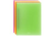 """Папка c пружинным скоросшивателем Erich Krause """"Glance Neon"""", 17мм, 500мкм, ассорти"""