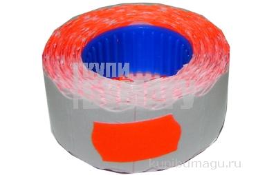 Этикет-лента МЕТО малая PN (волна) 22х12 (700эт. /270рол. ) красная