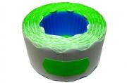 Этикет-лента МЕТО большая универсальная (волна) 26х12 (700эт. /200рол. ) зеленая