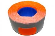 Этикет-лента PRIX (волна) 26х16 (700эт. /160рол. ) оранжевая