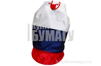 Рюкзак ТРИКОЛОР 45х26 см нейлон мягкая спинка