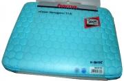 "Чехол для ноутбука Hexagon, 11. 6"" (30 см), 29 х 3 х 22 см, голубой, Hama   [OpN]"