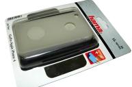Комплект Gel Skin для Apple iPhone 4, футляр+защитная пленка+салфетка, силикон, белый, Hama   [ObG]