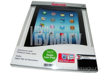Футляр для Apple iPad 3, белый, Hama   [OhN]