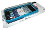 Футляр Frame для Apple iPhone 5, синий, Hama   [ObG]