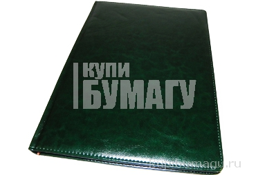 Еженедельник NATURE, кожзам, зеленый, лин., недатиров., ляссе, 128с., ф. А4 (225*320мм),  (INDEX)