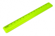 Линейка цветная, флюоресцентная, 4 цв., 16 см,  (СТАММ)