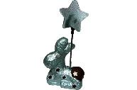 Держатель для визиток ШОКОЛАДНЫЙ ОЛЕНЬ, 1 шт, 5*10 см, керамика, в пакете,  (WINTER WINGS)
