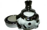 Подсвечник СНЕГОВИК, 1 шт, 9, 7*7, 3 см, керамика, в пакете,  (WINTER WINGS)