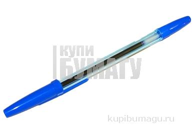 """Ручка шариковая синяя на масляной основе, узел 0. 7-1. 0 мм, стержень 133-135, """"Стамм"""", """"Офис"""","""
