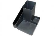 Подставка для канц. принадлежностей ИМИДЖ, серый металлик (СТАММ)