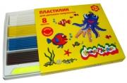 Пластилин Каляка-Маляка для детского творчества 8 цв. 120, 00 г стек, 3+