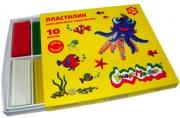 Пластилин Каляка-Маляка для детского творчества 10 цв. 150, 00 г стек