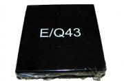 Сменная штемп. подушка Q43, Q43d (№8) 1шт синяя
