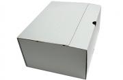 Лоток-коробка архивный, микрогофрокартон, 250x150x315 мм, белый, уп-ка 5 шт, цена за 1 шт,  (SPONSOR)