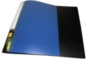 Папка с 10 файлами, форзац, ф. А4, ассорти, 0,5 мм,  (SPONSOR)