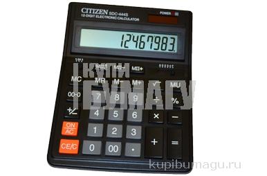 Калькулятор, 12 разр., дв. питание, 199x153,  (CITIZEN) ~~