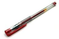 Ручка гелевая, 0,5 мм, красная,  (SPONSOR)