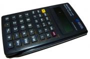 Калькулятор научный (пл., 10 разрд., 56 функ., чер. 71 x 134 x 12 мм) (SRP-135)