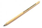 "Карандаш ""Русский карандаш"" шестигранный, натуральный цвет корпуса, ok 6. 4 мм"