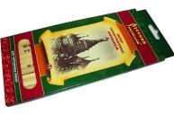 """Карандаши чернографитные в наборе 12шт 2H-2B """"Русский карандаш"""" карт упак е/п СКФ СК116/12"""