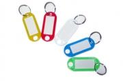 Брелок для ключей с инфо-окном, 1шт, цвет ассорти,  (SPONSOR)