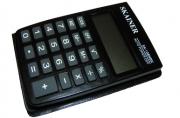 Калькулятор карм.  (пл., 8 разрд., чер. 58 x 88 x 10 мм) (SLD-100)