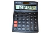 Калькулятор боль. наст.  (пл., 14 разрд., 2 пит., 2 пам., чер. 140 x 176 x 45 мм)