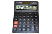 Калькулятор боль. наст.  (пл., 16 разрд., 2 пит., 2 пам., чер. 140 x 176 x 45 мм)