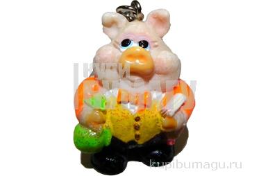 Брелок Свинка 4см 4 вида (GOLDEN GIFT CO. LTD)