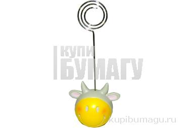 Держатель для визиток КОРОВА, полирезин,  4х12 см,  (FLAVIO FERRUCCI)