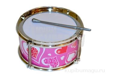 Игрушка барабан «Ритм», d=15 см, МИКС