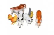 """Набор животных """"Домашние животные"""", 6 фигурок с аксессуарами"""