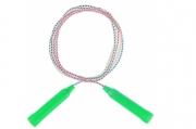 Скакалка, пластик, ПВХ, 2, 3 м, d=4, 3 мм, цвета МИКС