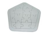 """Игра """"Пазлы"""" картон, 17388-1 для раскрашивания """"Фигура"""", 17х17 см /1 /0 /500"""