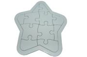 """Игра """"Пазлы"""" картон, 17388-3 для раскрашивания """"Звезда"""", 15, 5х18 см /1 /0 /500"""