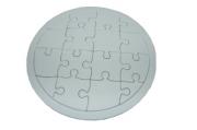 "Игра ""Пазлы"" картон, 17388-4 для раскрашивания ""Круг"", d-17 см /1 /0 /500"