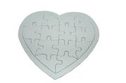 "Игра ""Пазлы"" картон, 17388-6 для раскрашивания ""Сердце"", 18, 5х17 см /1 /0 /500"