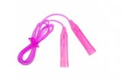 Скакалка пластиковая, 2, 5 м, d=0, 28 см, цвета МИКС