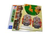 "Игра ""Пазлы"" 3D картон 8651 ""Домики"" /0 /0 /3000"