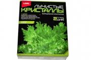 """Набор для изготовления лучистых кристаллов """"Зелёный кристалл"""", реагент, краситель, основа, LORI, Лк-"""