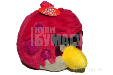 Angry Birds Limited Edition мягкая игрушка 12см, со звуком, в ассорт. д/б (Big Brother, Toucan, Orange Globe)