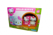1toy Hello Kitty, Игр. наб. : горка, 2 фигурки, 17, 78*7, 62*12, 7 см, кор.