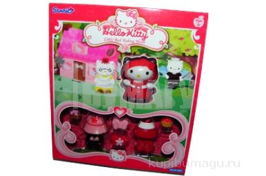 """1toy Hello Kitty, Игр. наб. : """"Робин Гуд"""", 1 фигурка, аксесс., 20, 32*6, 35*22, 865 см, кор."""