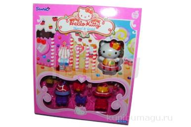 "1toy Hello Kitty, Игр. наб. : ""Гензель и Гретель"", 1 фигурка, аксесс., 20, 32*6, 35*22, 86 см, кор."