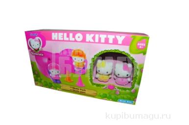 1toy Hello Kitty, Игр. Наб. : скейт-парк, 2 фигурки с аксесс., 22, 86*6, 35*12, 7 см, кор.