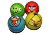 1toy Angry Birds набор мячей PU, 6, 3см, 4шт. в сетке в ассортименте