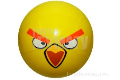 "1toy Angry Birds мяч ПВХ 23 см ""Желтая птица"""