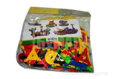 Конструктор пластиковый «Multiform», 188 деталей